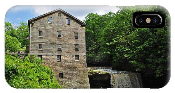 D9e-28 Lantermans Mill Photo IPhone Case