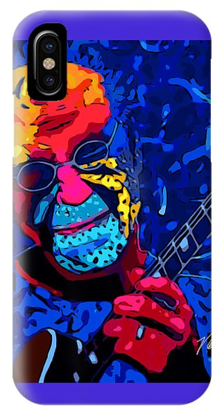 Larry Carlton IPhone Case