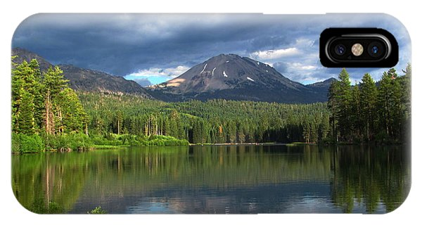 Lassen Peak  IPhone Case