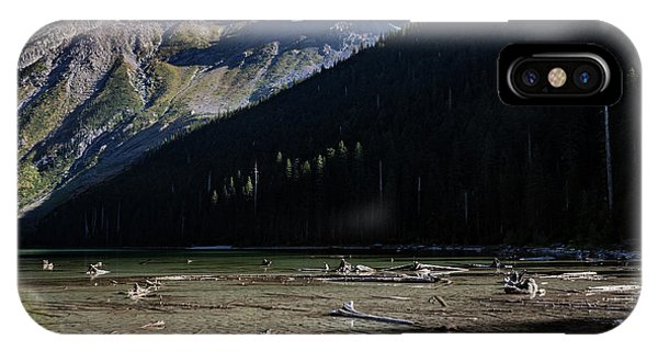 IPhone Case featuring the photograph Late Afternoon On Avalanche Lake by Lon Dittrick