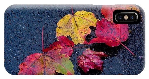 iPhone Case - Leaves by April Bielefeldt