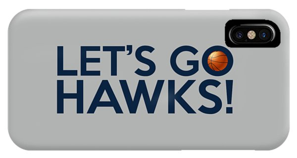 Let's Go Hawks IPhone Case
