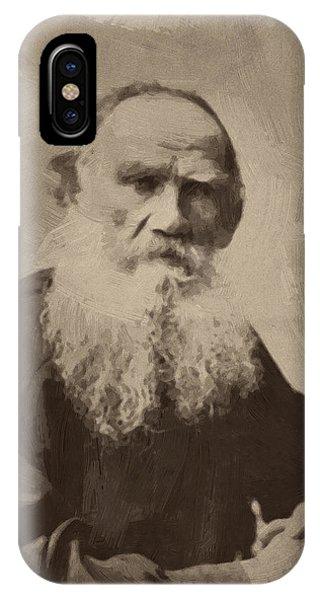Leo Tolstoy IPhone Case