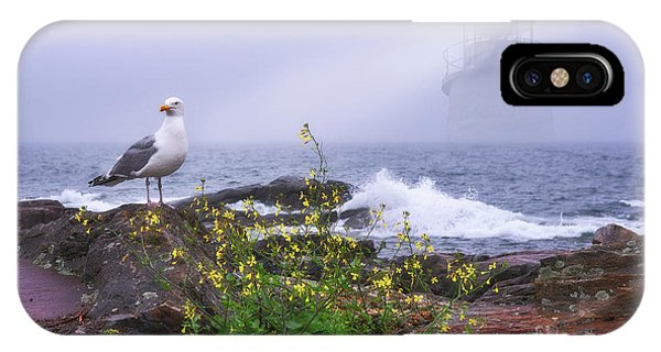 IPhone Case featuring the photograph Lighthouse Overlay by Sharon Seaward