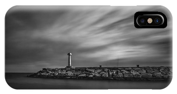Navigation iPhone Case - Lighthouse by Stelios Kleanthous