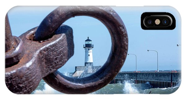 Lighthouse Thru The Hole IPhone Case