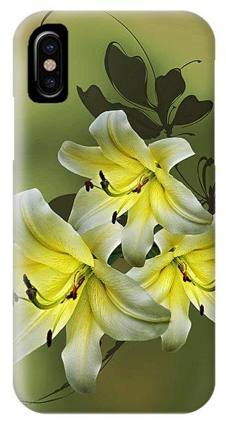 Lily Trio IPhone Case