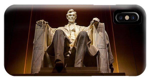 Lincoln Memorial At Night - Washington D.c. IPhone Case