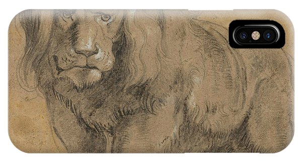 Baroque iPhone Case - Lion  by Peter Paul Rubens