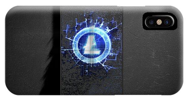 Virtual iPhone Case - Litecoin Cloner Smartphone by Allan Swart