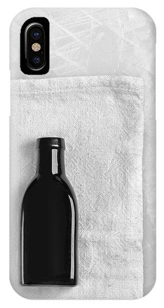 Little Black Bottle  IPhone Case