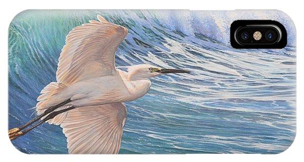 Little Egret IPhone Case