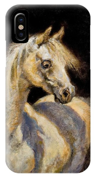 Little White Mare IPhone Case