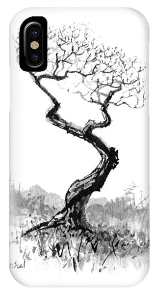 Little Zen Tree 1820 IPhone Case