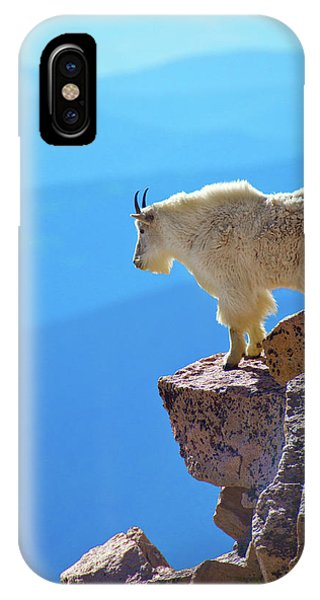 IPhone Case featuring the photograph Living On The Edge by John De Bord