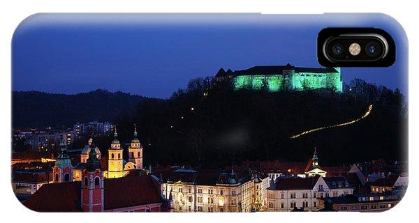 Ljubljana Castle IPhone Case