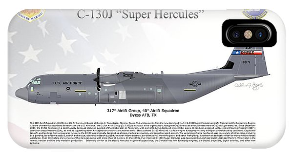 Lockheed Martin C-130j-30 Super Hercules IPhone Case