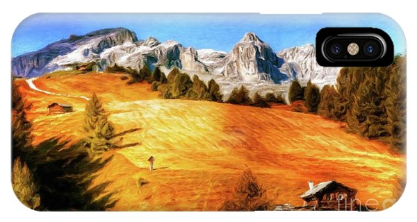 Log Cabin Home By Sarah Kirk IPhone Case