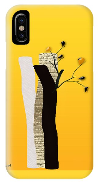 Log Flowers IPhone Case