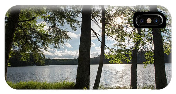 Long Lake Afternoon IPhone Case