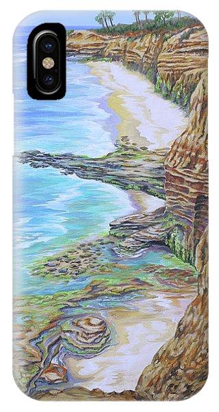 Low Tide Sunset Cliffs IPhone Case