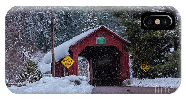 Lower Covered Bridge IPhone Case