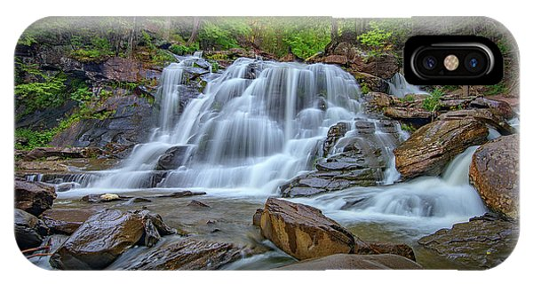 Lower Kaaterskill Falls IPhone Case