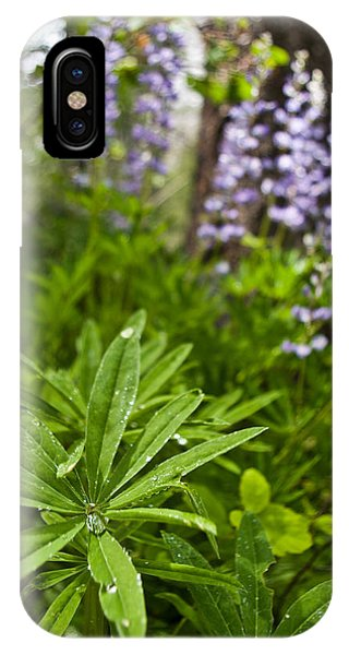 Lupine Leaf IPhone Case