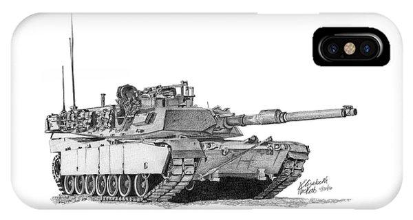 M1a1 Tank IPhone Case