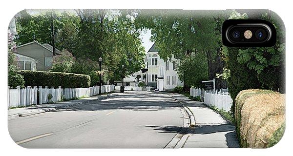 Mackinac Island Street  IPhone Case