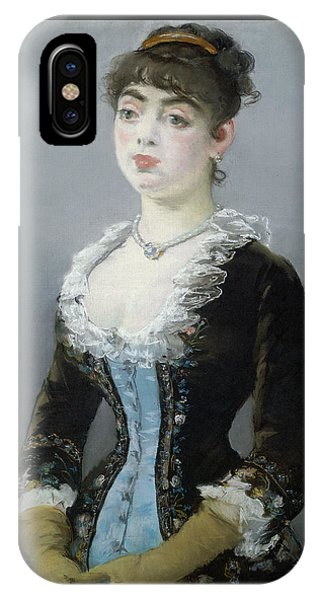 Madame Michel-levy IPhone Case