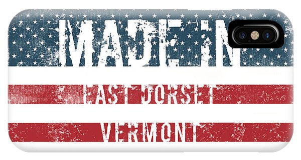 Dorset iPhone Case - Made In East Dorset, Vermont by Tinto Designs