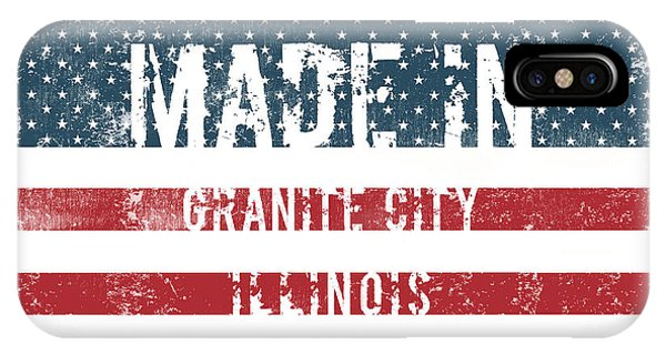 Granite iPhone Case - Made In Granite City, Illinois by Tinto Designs