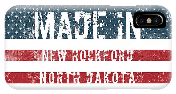 Rockford iPhone Case - Made In New Rockford, North Dakota by Tinto Designs