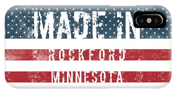 Rockford iPhone Case - Made In Rockford, Minnesota by Tinto Designs