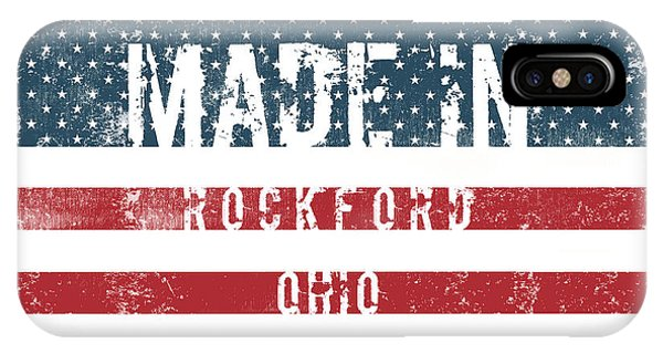 Rockford iPhone Case - Made In Rockford, Ohio by Tinto Designs