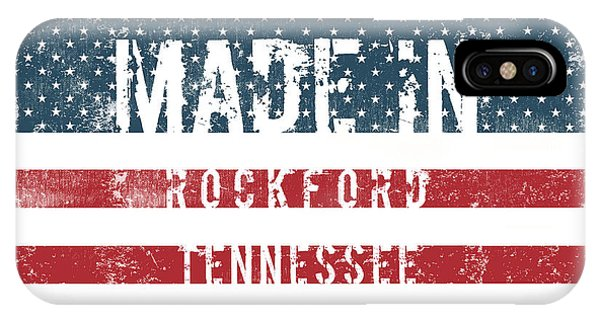 Rockford iPhone Case - Made In Rockford, Tennessee by Tinto Designs