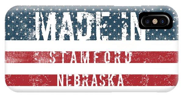 Stamford iPhone Case - Made In Stamford, Nebraska by Tinto Designs
