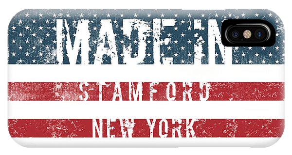 Stamford iPhone Case - Made In Stamford, New York by Tinto Designs