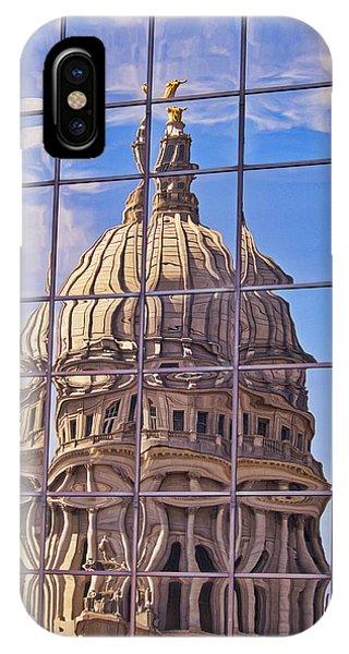 Madison Capitol Reflection IPhone Case