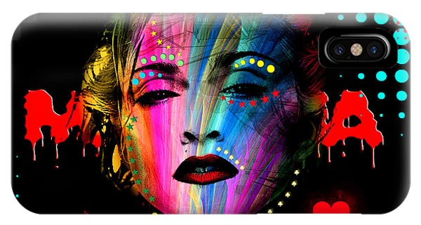 Dive iPhone Case - Madonna by Mark Ashkenazi