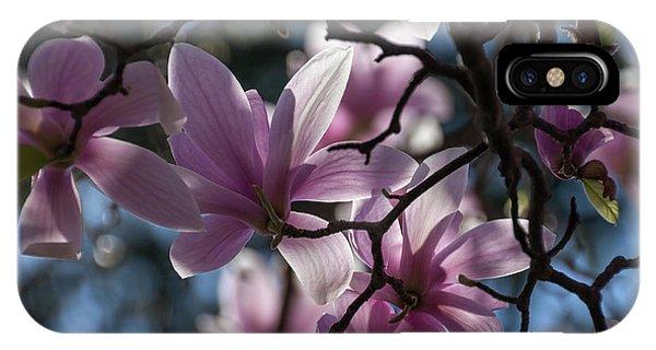 Magnolia Net - IPhone Case