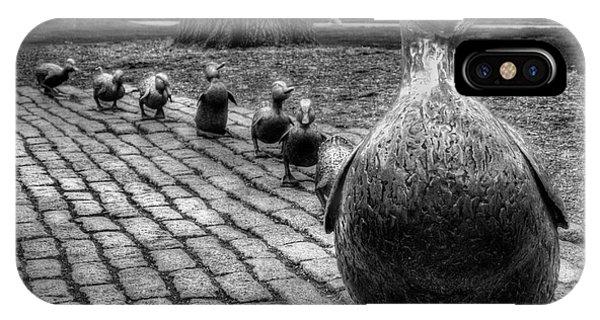 Make Way For Ducklings - Boston Public Garden IPhone Case