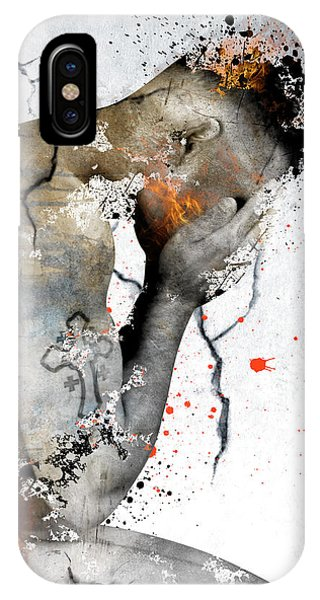 Gay Men iPhone Case - Male Nude  by Mark Ashkenazi
