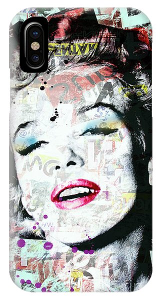 Dive iPhone Case - Marilyn  by Mark Ashkenazi