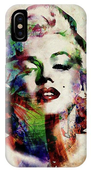 Artwork iPhone Case - Marilyn by Michael Tompsett