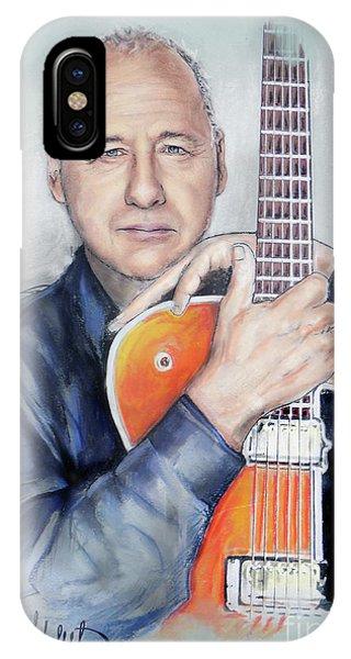 Eric Clapton iPhone Case - Mark Knopfler by Melanie D