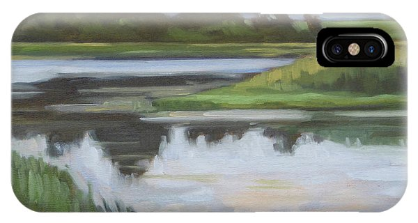 iPhone Case - Marsh, June Afternoon by Kim Gordon