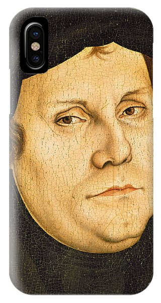 Lutheran iPhone Case - Martin Luther by Lucas the elder Cranach