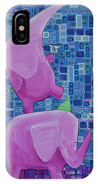 Martinis For Two IPhone Case